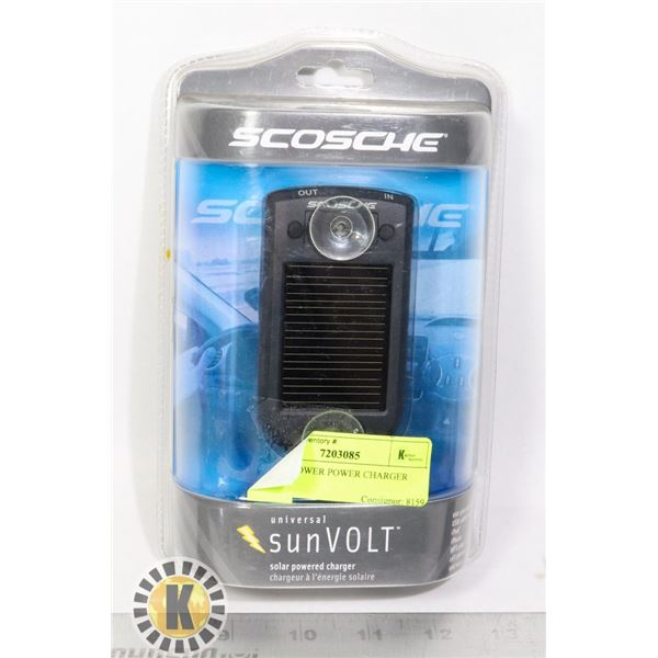 SOLAR POWER POWER CHARGER