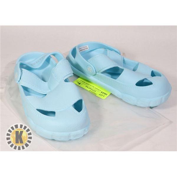 SANDALS BABY BLUE KIDS SIZE 4