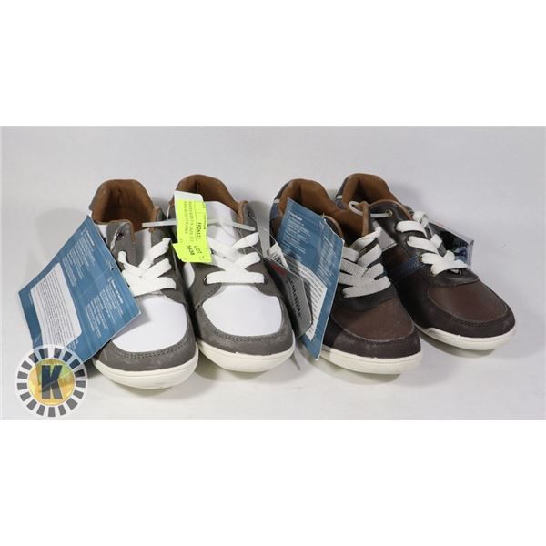 SHOES KIDS US SIZE 35 PAIR OF 2 ASSORTED COLORS