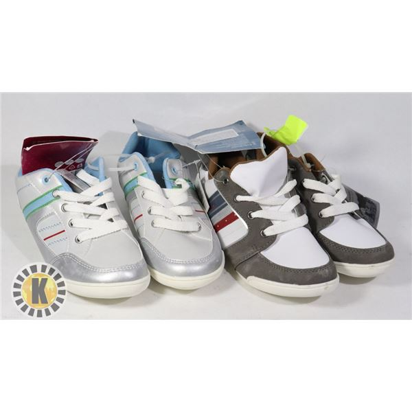 SHOES KIDS 2 PAIR OF SHOES SIZE 33