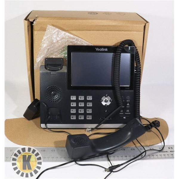YEALINK ULTRA-ELEGANT GIGABIT IP PHONE SIP-T48S