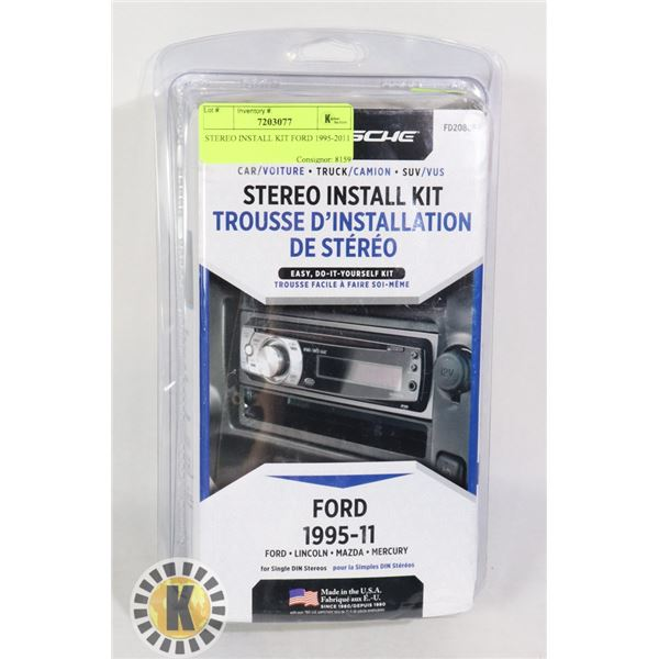 STEREO INSTALL KIT FORD 1995-2011