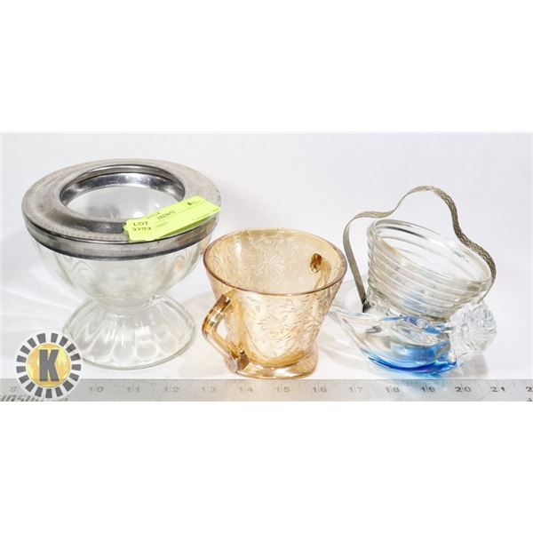 GLASS DISHES