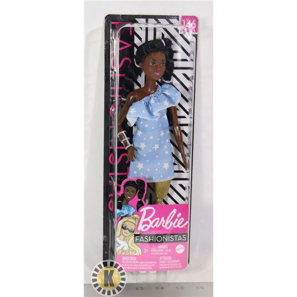 BARBIE FASHIONISTAS COLLECTIBLE DOLL, NEW