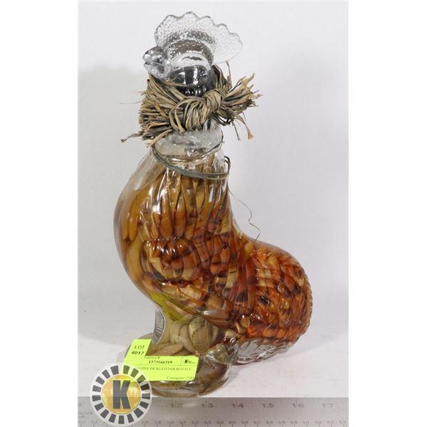DECORATIVE PICKLED JAR BOTTLE