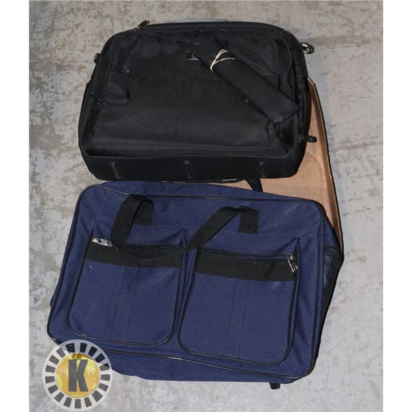 TWO BUSINESS TRAVEL BAGS