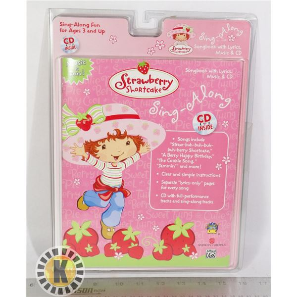STRAWBERRY SHORTCAKE SING ALONG BOOK WITH CD