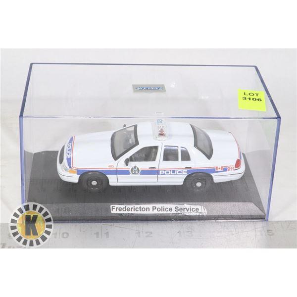 MODEL POLICE CAR FREDERICTON