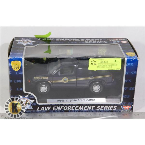 MODEL CAR LAW ENFORCEMENT SERIES WEST VIRGINIA POL