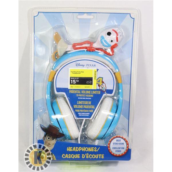 DISNEY PIXAR CORDED HEADPHONES