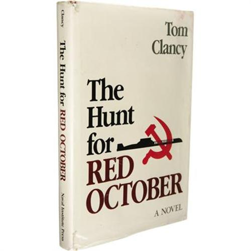 Tom Clancy: Signed 1st The Hunt for Red October