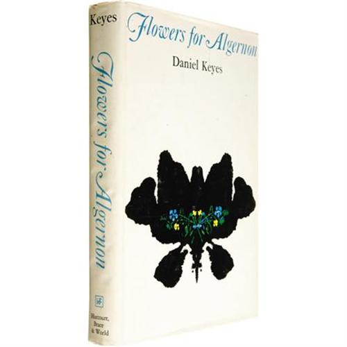 Daniel Keyes Flowers for Algernon w/ Signature
