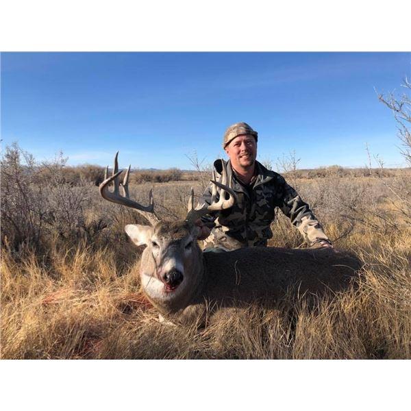 Wyoming Rifle Whitetail Deer Hunt