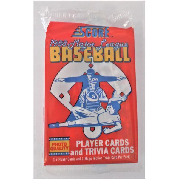 Score 1988 Major League Baseball Cards - Unopened Pack
