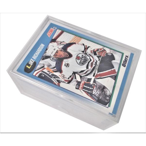 Box of Score 1991 Hockey Cards