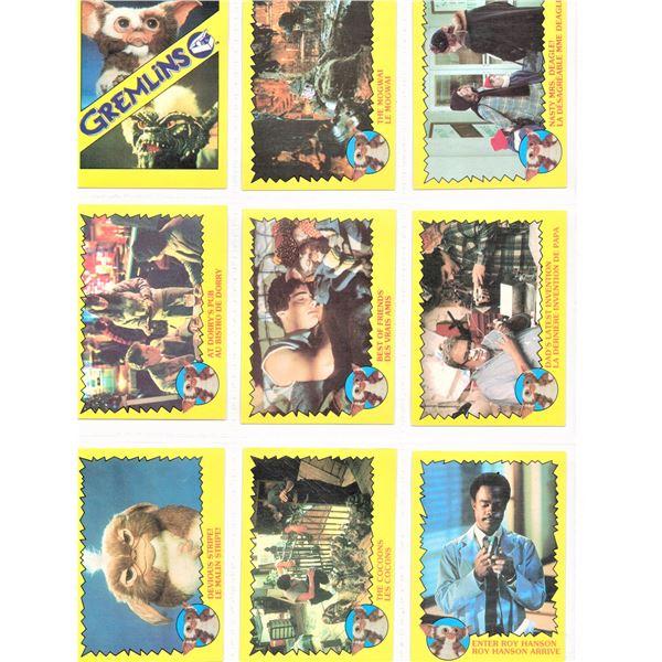 24 Gremlins Movie Cards