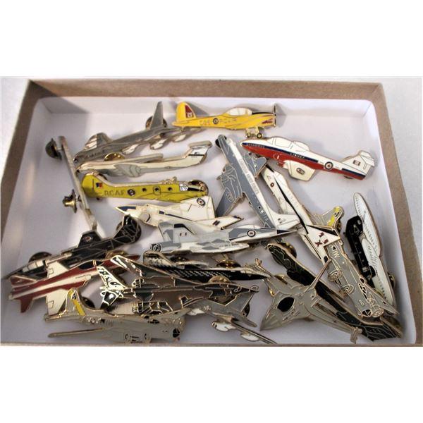 Aircraft Pins - Lot of 20