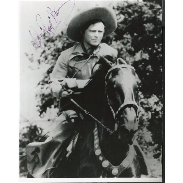"""Don """"Red"""" Barry signed photo"""
