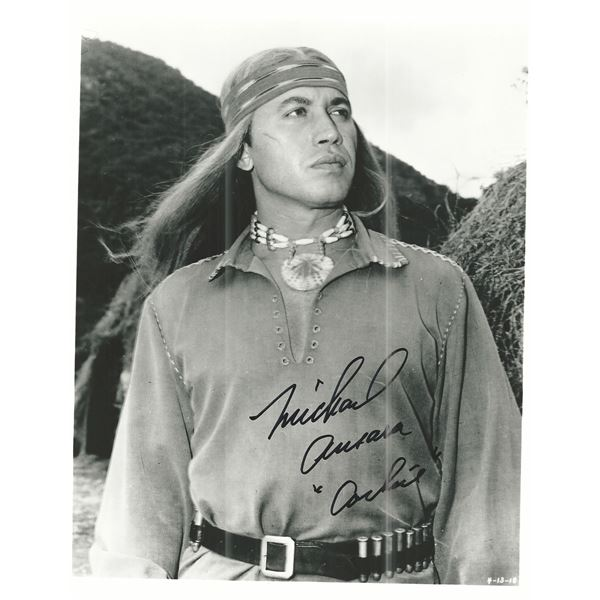 Broken Arrow Michael Ansara signed photo