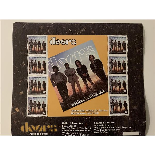 The Doors - Saint Vincent- 1997 stamp set