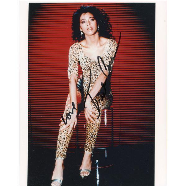 Irene Cara signed Flashdance photo