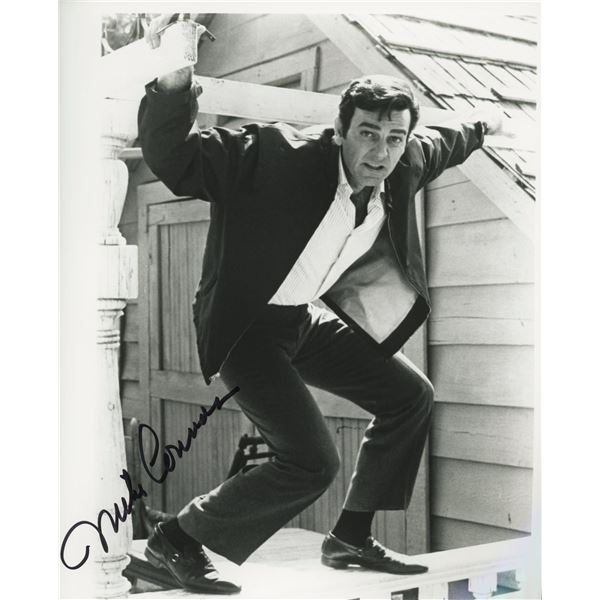 Mike Connors signed photo