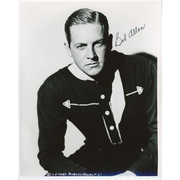 Bob Allen signed photo
