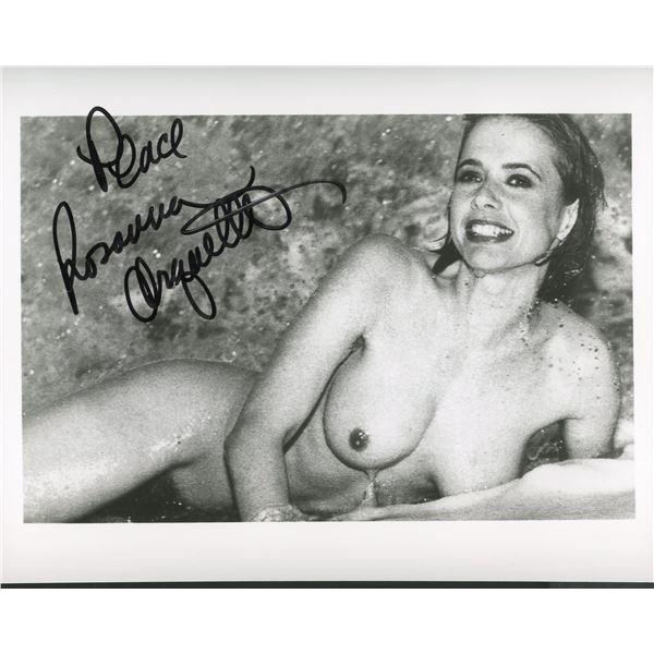 Rosanna Arquette signed photo
