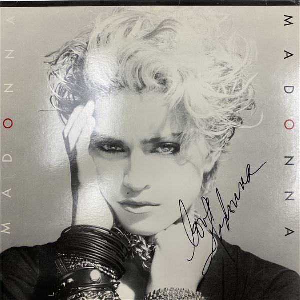 Madonna signed Madonna album