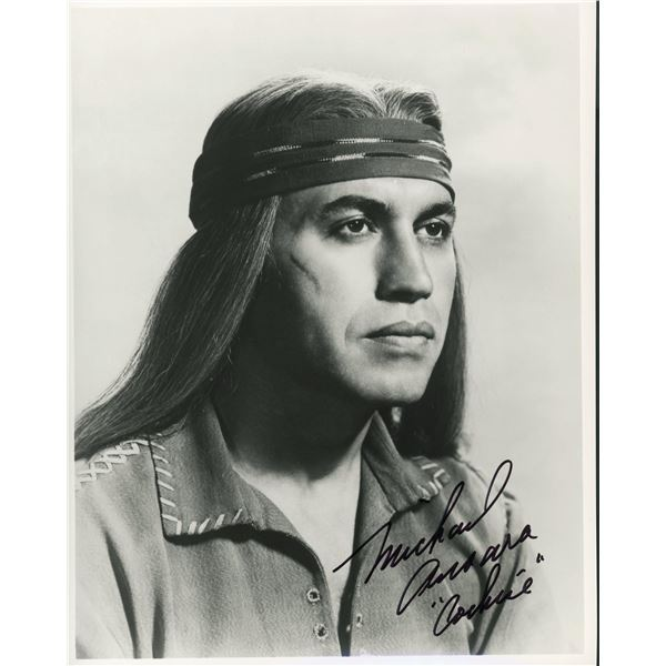 Michael Ansara signed photo