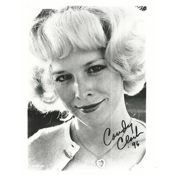 Candy Clark signed photo