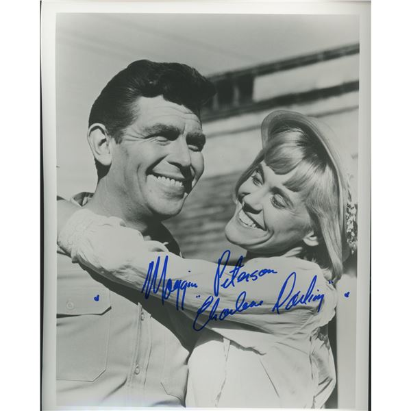 """Maggie Peterson signed """"The Andy Griffith Show"""" photo"""