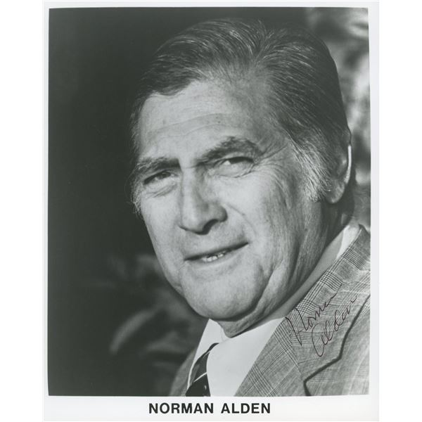 Norman Alden signed photo