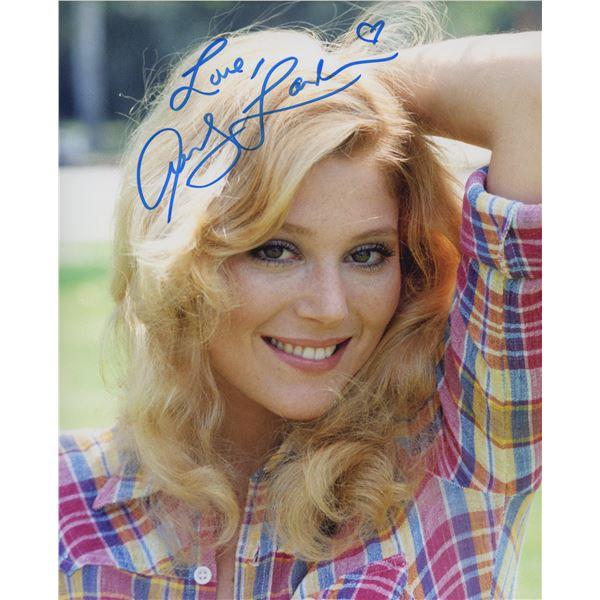 Audrey Landers signed photo