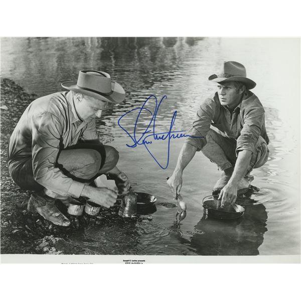 Steve McQueen signed movie photo