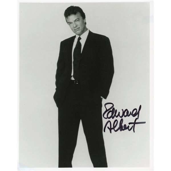 Edward Albert signed photo