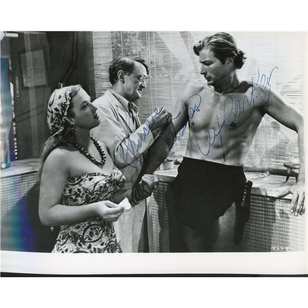 Lex Barker signed movie photo