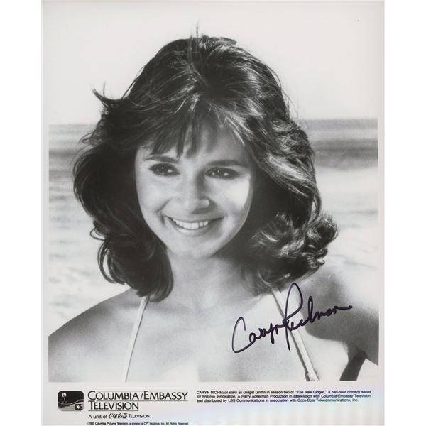 "Caryn Richman ""The New Gidget"" signed photo"