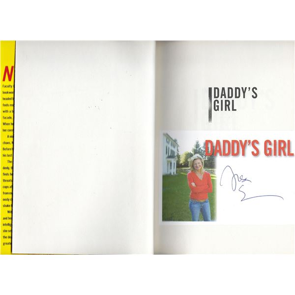 Daddy's Girl Lisa Scottoline signed book