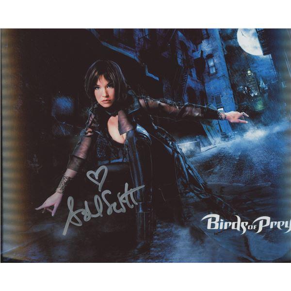 """Ashley Scott signed """"Birds of Prey"""" movie photo"""