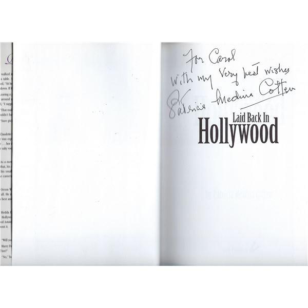 Patricia Medina Cotten signed book