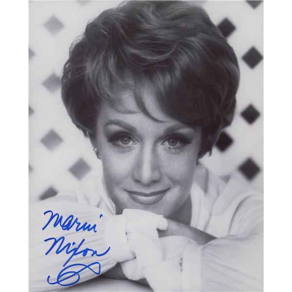 Marni Nixon signed photo