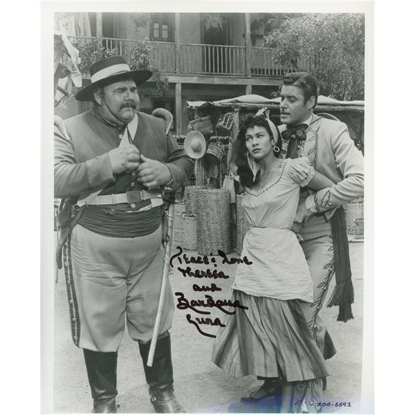 BarBara Luna signed movie photo
