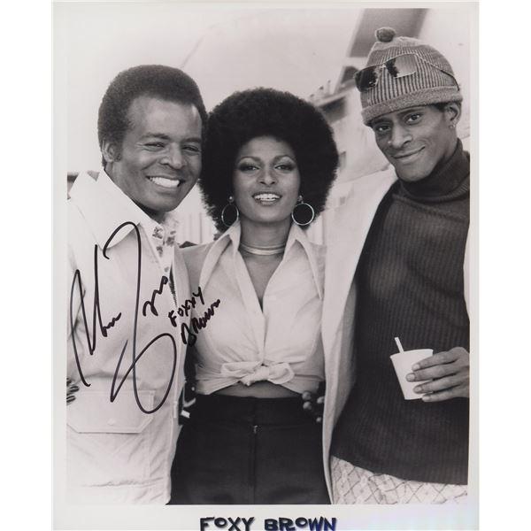 """Antonio Fargas """"Foxy Brown"""" signed movie photo"""