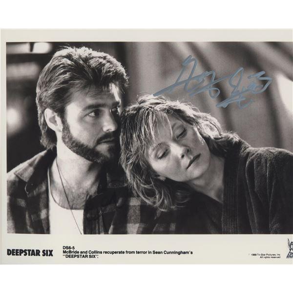 "Greg Evignan ""Deepstar Six"" signed movie photo"