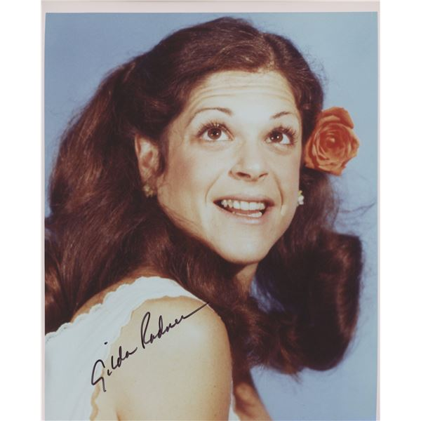Gilda Radner signed photo