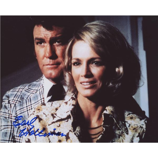 """Earl Holliman """"Police Woman"""" signed photo"""