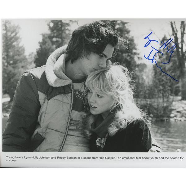 "Lynn-Holly Johnson ""Ice Castles"" signed movie photo"