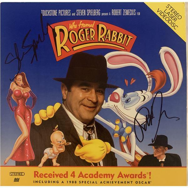 Who Framed Roger Rabbit signed laser disc