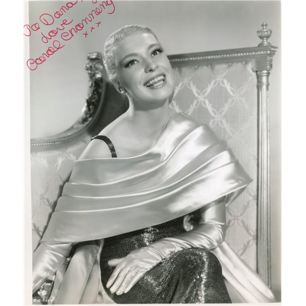 Carroll Channing signed photo